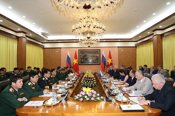 Việt - Nga: Thống nhất kế hoạch hợp tác kỹ thuật quân sự 2018 - Ảnh 1.