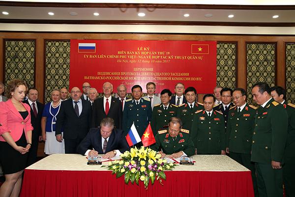 Việt - Nga: Thống nhất kế hoạch hợp tác kỹ thuật quân sự 2018 - Ảnh 2.