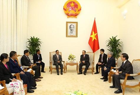 Phó Thủ tướng Trương Hòa Bình tiếp Bộ trưởng Bộ Các vấn đề biên giới Myanmar - Ảnh 1.