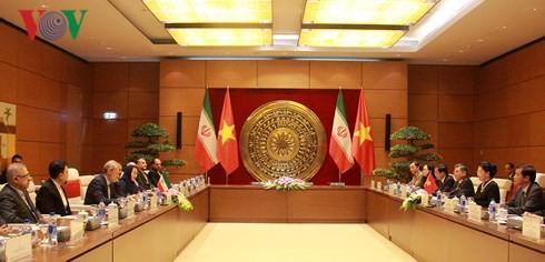 Chủ tịch Quốc hội hội đàm với Chủ tịch Quốc hội Iran - Ảnh 2.