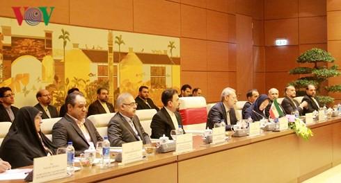 Chủ tịch Quốc hội hội đàm với Chủ tịch Quốc hội Iran - Ảnh 4.