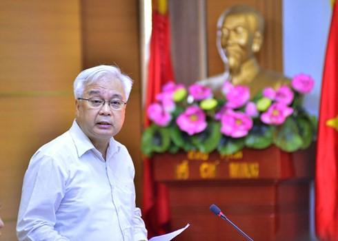 Đoàn kiểm tra của Bộ Chính trị làm việc với Ban Thường vụ Đảng bộ VOV - Ảnh 1.
