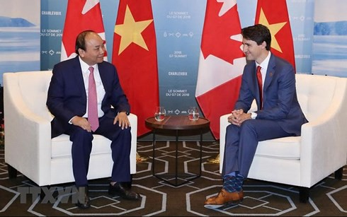 Việt Nam đóng góp tích cực tại Hội nghị Thượng đỉnh G7 mở rộng - Ảnh 1.