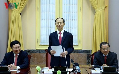 Chủ tịch nước trao quyết định bổ nhiệm Đại sứ nhiệm kỳ 2018-2021 - Ảnh 1.