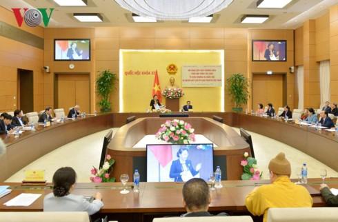 Tăng cường phối hợp giữa UBTVQH và Đoàn Chủ tịch UBTW MTTQ Việt Nam - Ảnh 1.