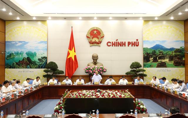 Thủ tướng chủ trì cuộc họp Thường trực Chính phủ - Ảnh 1.
