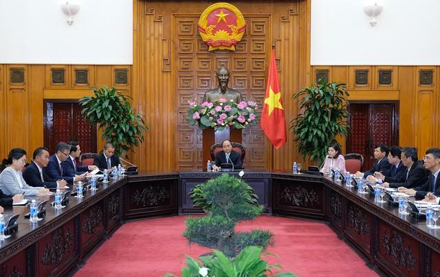 Thủ tướng Nguyễn Xuân Phúc tiếp Bộ trưởng Ngoại giao Lào - Ảnh 1.