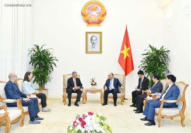 Thủ tướng tiếp lãnh đạo Tập đoàn đưa Giải đua F1 vào Việt Nam - Ảnh 1.
