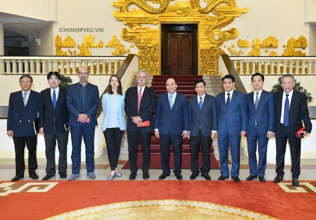 Thủ tướng tiếp lãnh đạo Tập đoàn đưa Giải đua F1 vào Việt Nam - Ảnh 2.