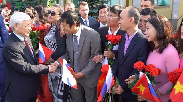 Ảnh: Lễ đón Tổng Bí thư tại sân bay Vnukovo, Liên Bang Nga - Ảnh 8.