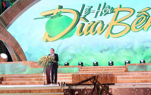 Chủ tịch Quốc hội dự Lễ hội Dừa Bến Tre lần thứ 5 năm 2019  - Ảnh 1.