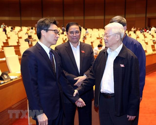 Tổng Bí thư, Chủ tịch nước Nguyễn Phú Trọng dự phiên chất vấn - Ảnh 4.