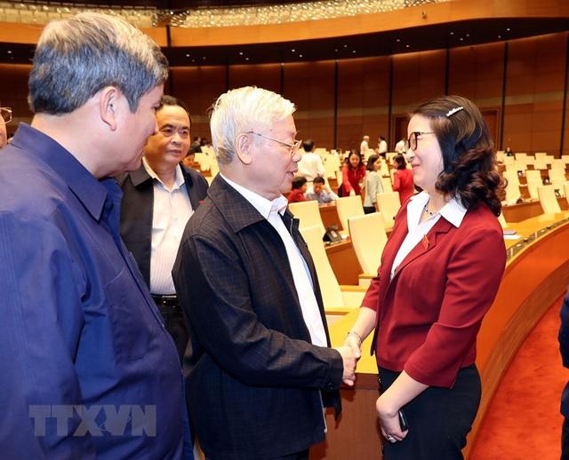 Tổng Bí thư, Chủ tịch nước Nguyễn Phú Trọng dự phiên chất vấn - Ảnh 5.
