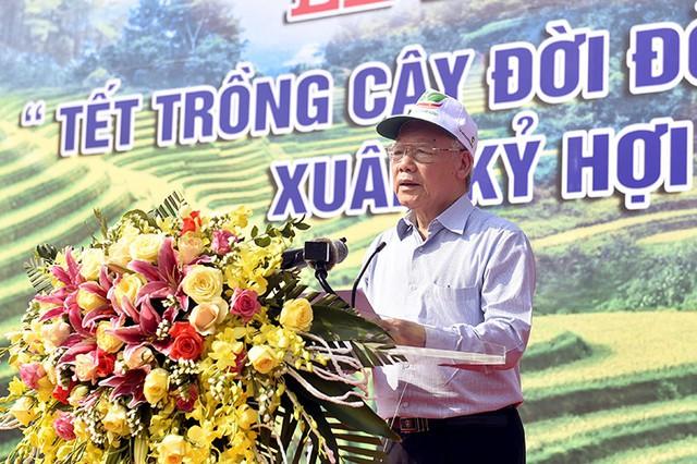 Tổng Bí thư, Chủ tịch nước Nguyễn Phú Trọng phát động Tết trồng cây - Ảnh 1.