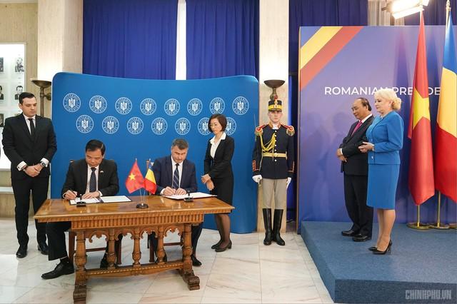 Thủ tướng Việt Nam, Romania hội đàm - Ảnh 5.
