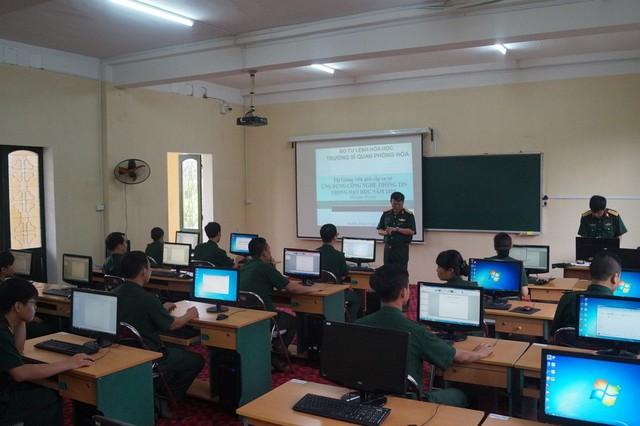 Trường Sĩ quan Phòng hóa tổ chức Hội thi giảng viên giỏi cấp cơ sở năm 2019 - Ảnh 1.