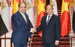 Thủ tướng Nguyễn Xuân Phúc tiếp Tổng thống Ai Cập