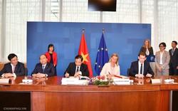 Thủ tướng chứng kiến ký thỏa thuận chống khai thác gỗ bất hợp pháp Việt Nam-EU