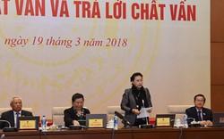 Chủ tịch Quốc hội đánh giá 2 Bộ trưởng trả lời chất vấn thẳng thắn
