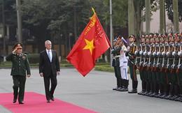 Vì sao Bộ trưởng Quốc phòng Mỹ thăm Việt Nam 2 lần trong 1 năm?