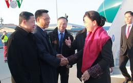 Chủ tịch Quốc hội Nguyễn Thị Kim Ngân đến Thụy Sỹ tham dự IPU-138