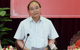 Thủ tướng kiểm tra mô hình nông thôn mới kiểu mẫu ở Hà Tĩnh