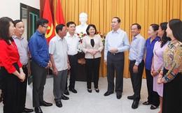 Quyền Chủ tịch nước Đặng Thị Ngọc Thịnh tri ân đồng chí Trần Đại Quang