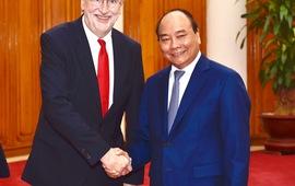 Thủ tướng tiếp Chủ tịch Ủy ban Thương mại quốc tế