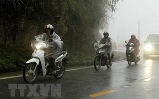 Khu vực Bắc Bộ mưa rét, vùng núi đề phòng thời tiết nguy hiểm