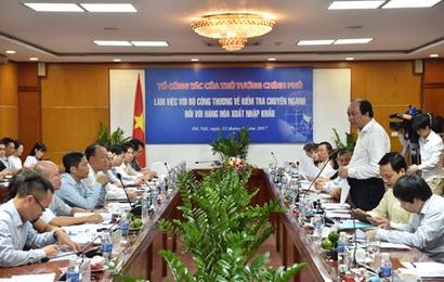 Thủ tướng biểu dương Bộ Công Thương trong việc cải cách
