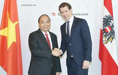 Nỗ lực đưa Áo thành đối tác kinh tế hàng đầu của Việt Nam tại châu Âu