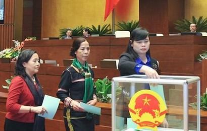Chủ tịch nước được bầu, tuyên thệ trước Quốc hội ngay đầu Kỳ họp thứ 6