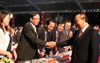 Thủ tướng dự kỷ niệm 120 năm thành lập huyện Đại Lộc, tỉnh Quảng Nam