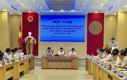 Phó Thủ tướng chủ trì Hội nghị triển khai công tác giải phóng mặt bằng cao tốc Bắc-Nam