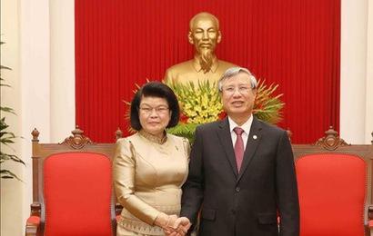 Quan hệ Việt Nam - Campuchia ngày càng phát triển đi vào chiều sâu, thiết thực và hiệu quả
