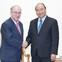 Thủ tướng tiếp Chủ tịch Tổ chức Hỗ trợ đại học thế giới Đức