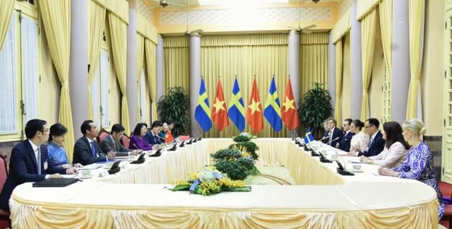 Thụy Điển coi trọng phát triển quan hệ hợp tác với Việt Nam - Ảnh 1.